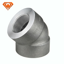 Pipe forged carbon steel fittings 3000lb a105 forged fittings