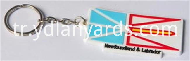 PVC Rubber Keychain