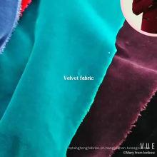 tecido de jaqueta de veludo de algodão de alta qualidade para atacado