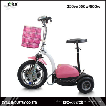 Electric Mobility Scooter for Elder Adult 3 Wheels Big Size
