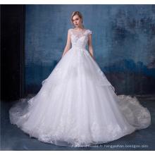 Alibaba robe de mariée robe de mariée dernière conception HA608
