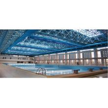Couverture de piscine de toiture de botte de cadre en métal de haute qualité et économique