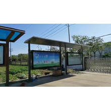Outdoor Scrolling Advertising Billboard Lightbox for Waiting Shelter