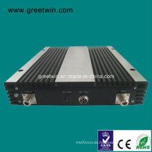 24dBm Amplificador de la señal de GSM900 + Dcs1800 + 3G + Lte2600 / amplificador móvil de la señal (GW-24GDWL)