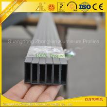 Profil en aluminium adapté aux besoins du client d'aluminium d'extrusion pour le tube en aluminium