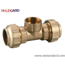 Brass Screw Fitting/Male Tee/Brass Compression Fitting for PPR Pipe