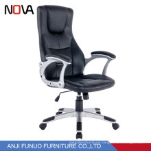 European Style Cowhide Comfortable Leather High Back Racing Office Chair