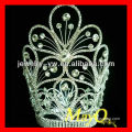 Beauty flower design diamond queen pageant tiara crown