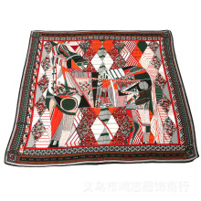 Women′s Large Cashmere Like Square Wrap Shawl Scarf (SW102)
