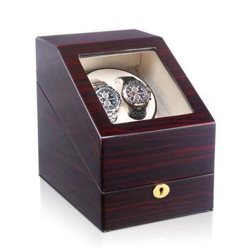 Enkele rotor 2 + 3 horloges Winder Display Box