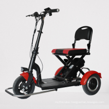 light weight folding portable electric wheelchair