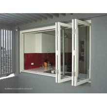 Nicht korruption Bifold Aluminium Türen und Fenster