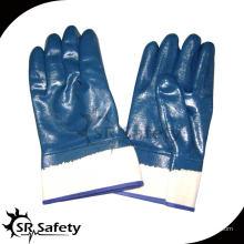 SRSAFETY трикотажная футеровка NBR тяжелая нефтяная промышленность безопасность работы перчатка