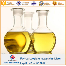 Adhesivo Concreto Policarboxilato Superplastificante Líquido 40% 50% Sólido
