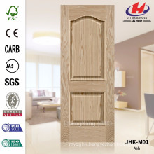JHK-M01 Specially 2016 Convex Ash Veneer Door Skin Manufacture