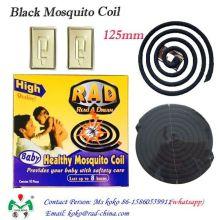 Bobina de incienso repelente de mosquitos negro sin humo ecológico