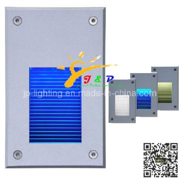 2W Aluminium Outdoor Wandleuchte IP65 Einbauleuchte LED Schritt Licht (JP819207)