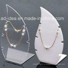 Формы Muilt акрил Дисплей стенд / выставки для Промотирования ожерелья