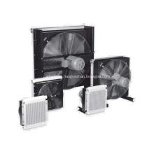 Refrigeradores de placa e barra de alumínio para compressor de ar