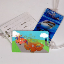 Efecto 3D Impresión de etiquetas de plástico lenticular