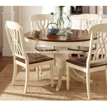 European style dining table and chairs XYN1516