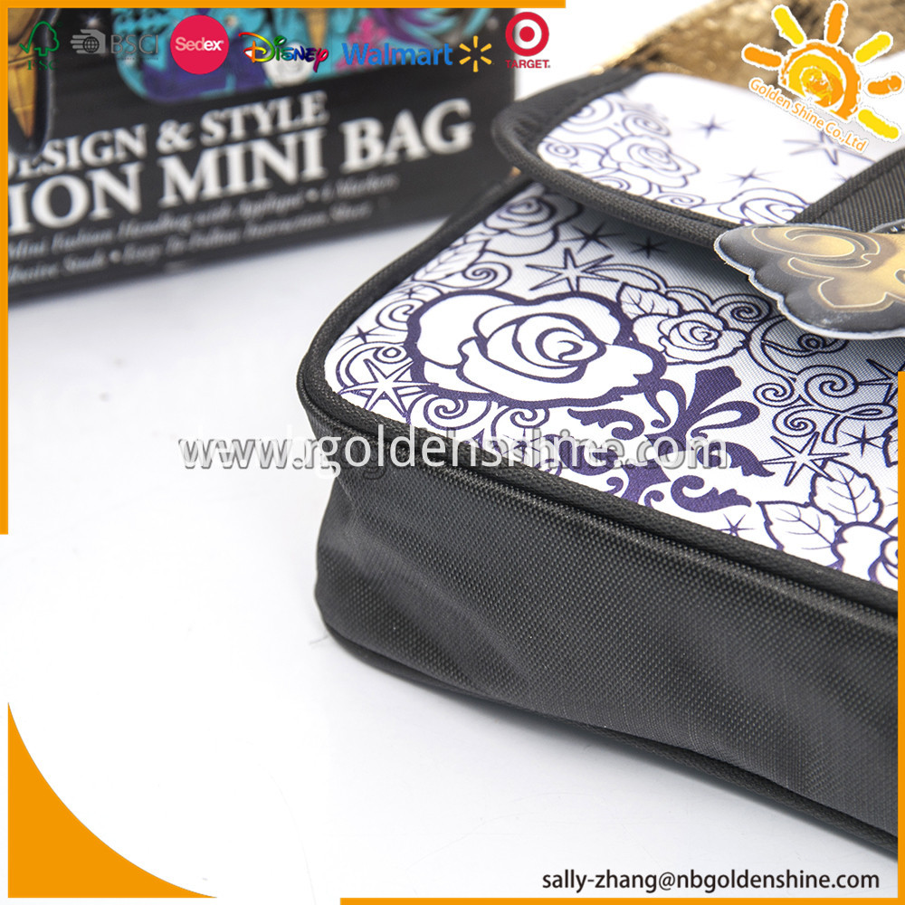 Design And Coloring Mini Bag