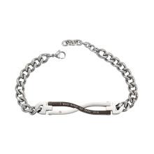 75012 Xuping titanium jewelry custom chain magnetic bracelet