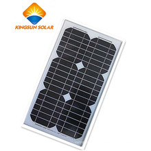 15W alta venta potente panel solar monocristalino de célula fotovoltaica