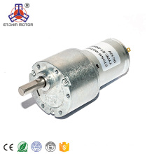 mall carbon brush DC gear motor for curtain lift / vending machine