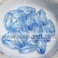 Good Quality Of Imitation Acrylic Transparent Oval Pointed Bead Made By China Factory