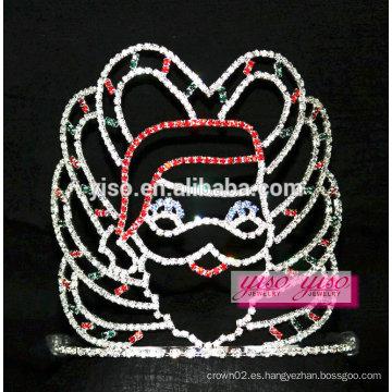 Hermosos santos de los Estados Unidos víspera de Navidad fiesta pageant tiara