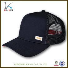 100% хлопок мода сетки бейсбольная кепка/водителя грузовика 5 панелей шапки/ пустой snapback водителя грузовика сетки кепка