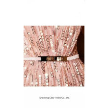 Fashion Dress Sequins Embroidery Fabric
