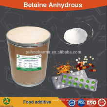 Betain wasserfreies Pulver (Glycin Betain) Lebensmittel / Pharma / Futter / Kosmetik