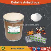 Betaína em pó anidro (glicina betaína) alimentos / farmacêutica / alimentação / estética