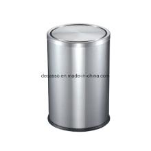 Caixote do lixo do quarto de hóspedes de aço inoxidável (DK102)