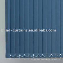 Tissu vertical vertical