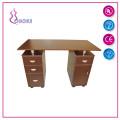 Mesa de manicura de madera superior Tabla de uñas