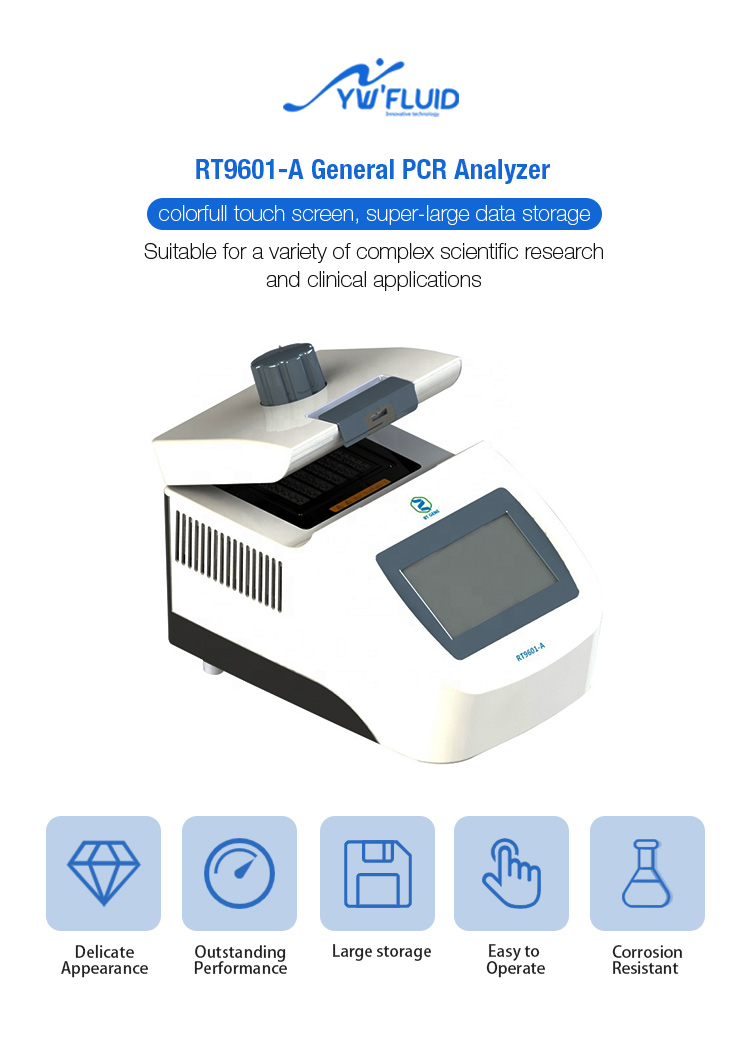 Laboratory PCR Thermo Cycler Polymerase Chain Reaction DNA PCR Amplification of DNA Lab Supplies Laboratory Chemistry