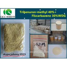 Herbicida tribenurón-metilo 400g / l + Flucarbazona 350g / l WDG-lq