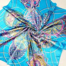 Bufanda de seda de la bufanda de la gasa de la manera al por mayor