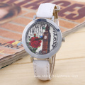 Dail Leather Strap WristWatch