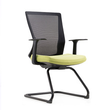 New Arrival Comfortable Ergonomic Computer Office Visitor Chair Aluminium