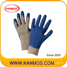 Подходящие стойкие к царапинам латексные перчатки для работы в промышленной безопасности (52202)