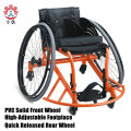 Silla de ruedas de guardia de baloncesto deportivo con certificación CE para discapacitados