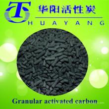 Filtro de carbono ativado em colunas de valor de iodo de 4 milímetros 1000