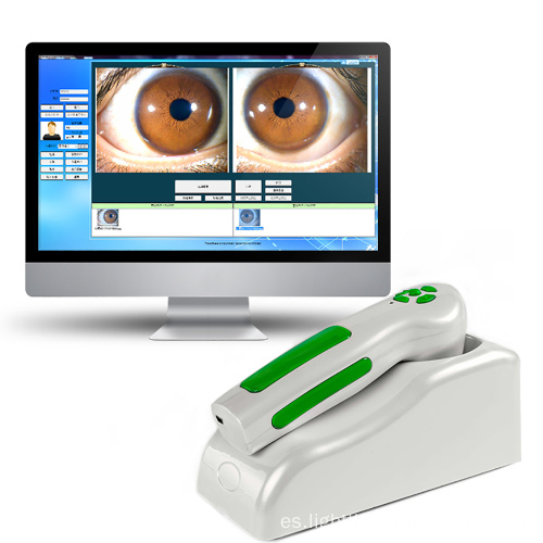 dispositivo usb iriscope iridologia camara usb