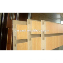 slot mdf board with aluminium
