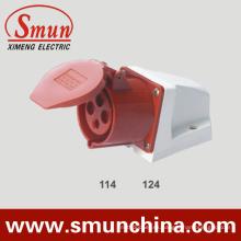 16 / 32A 4pin 3p + E Cee Enchufe eléctrico y zócalo