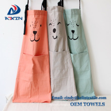 2017 new Promotional Customized cooking cotton kitchen apron with logo 2017 new Promotional Customized cooking cotton kitchen apron With Logo
